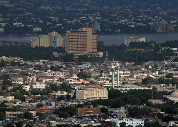 A general view of the city of Bamako pictured from the point G in Bamako, Mali August 9, 2018. REUTERS/Luc Gnago